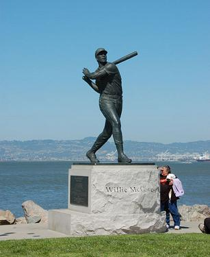 Willie McCovey Statue at AT&T Park
