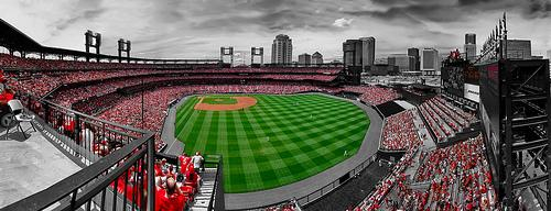 Busch Stadium, Home of the St Louis Cardinals