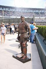 Statue of Carlton Fisk, U.S. Cellular Field