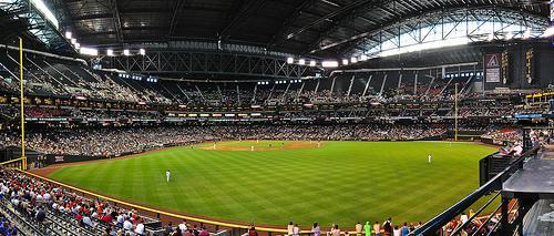 Chase Field, Home of the Arizona Diamondbacks