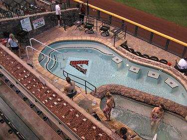 Swimming Pool at Chase Field, Phoenix