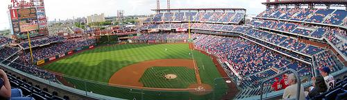 Panoramic View of Citizens Bank Park, Home of the Philadelphia Phillies