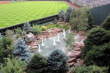 Fountains at Coors Field, Colorado