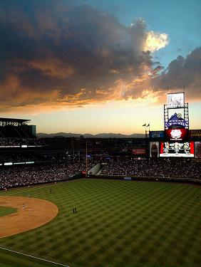 Skyline at Coors Field, Colorado