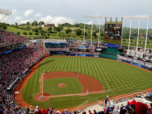 Kauffman Stadium, Home of the Kansas City Royals