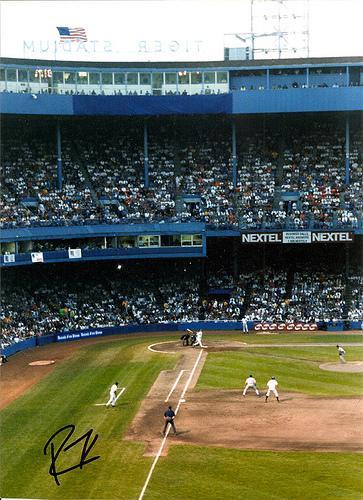Last game at Tigers Stadium, Detroit - Sept 27, 1999