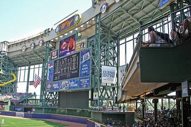 Miller Park Scoreboard
