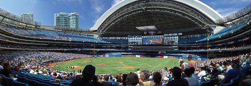 Rogers Centre, Home of the Toronto Blue Jays