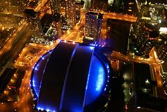 Roof of Rogers Centre from CN Tower