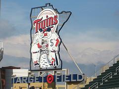 Target Field Twins Sign