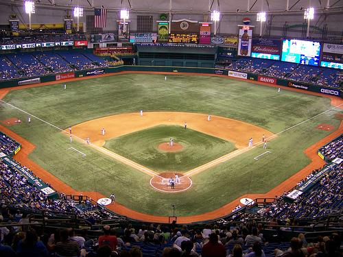 Tropicana Field, Home of the Tampa Bay Devil Rays