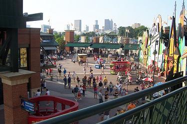 Turner Field Entry Plaza