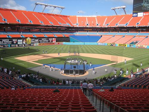 Sun Life Stadium, Home of the Florida Marlins