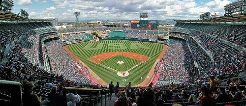Angel Stadium of Anaheim, Home of the Los Angeles Angels