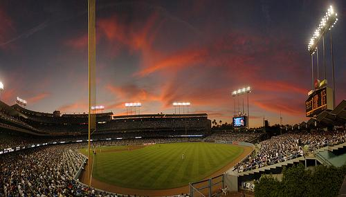 Dodger Stadium, Home of the Los Angeles Dodgers