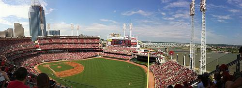 Great American Ballpark, Home of the Cincinnati Reds