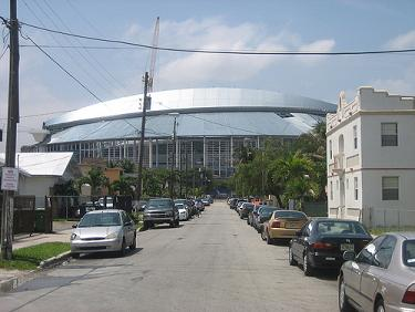 Construction of Miami Ballpark, New Home of the Florida Marlins