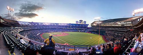 Oakland-Alameda County Coliseum, Home of the Oakland Athletics