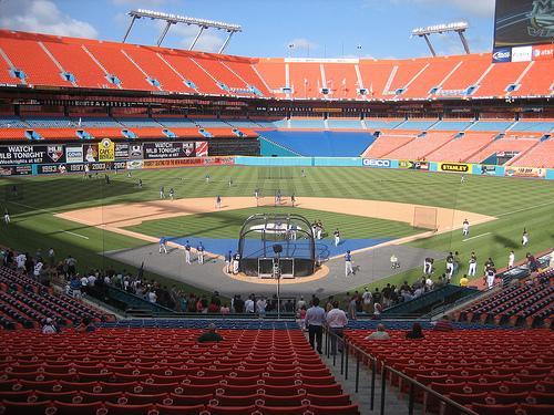 Sun Life Stadium, Home of the Florida Marlins